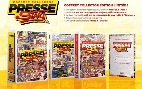 Lecture – Presse Start – 40 ans de magazines de jeux vidéo