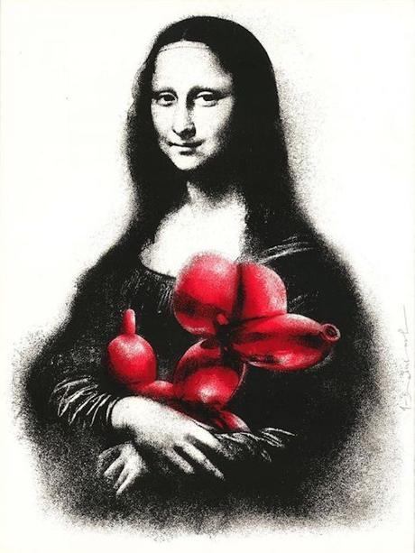 Deodato Art_visual_Mr. Brainwash, Rescue (red), Silkscreen on paper, 57x76 cm, 2.500 euro