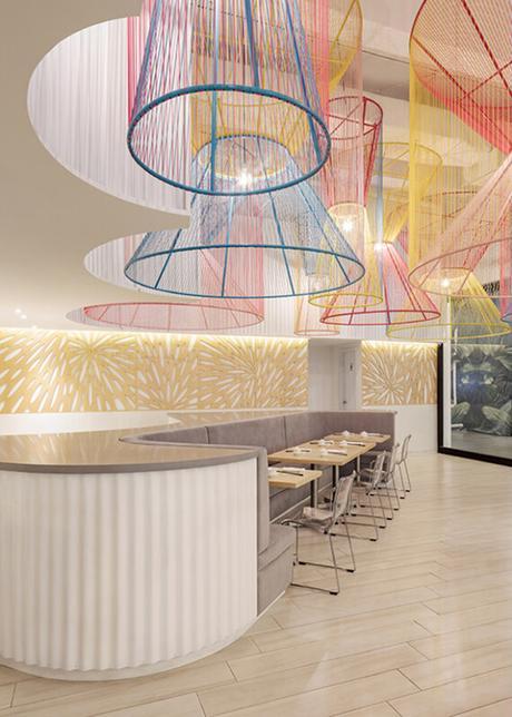 Happy Panda, un restaurant à la décoration colorée et ludique