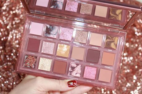 La palette Naughty Nude d'Huda Beauty !