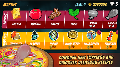 Code Triche Pizza Mania: Cheese Moon Chase APK MOD (Astuce) 4