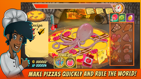 Code Triche Pizza Mania: Cheese Moon Chase APK MOD (Astuce) 1