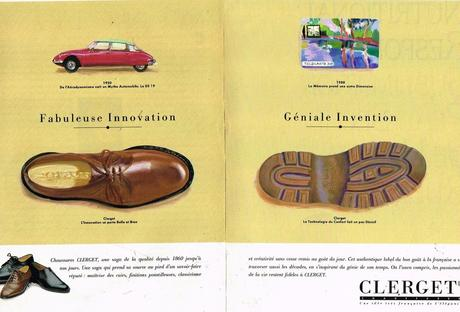 1991 Les Chaussures Mocassins Clerget