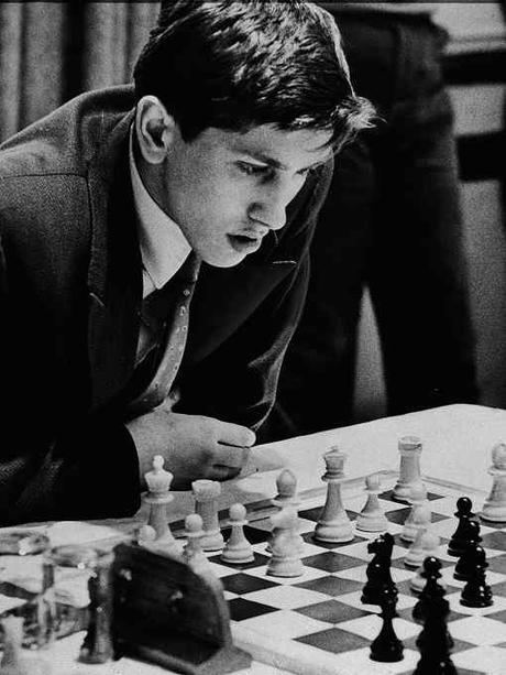Robert James Fischer, dit Bobby Fischer - Photo © New York Times