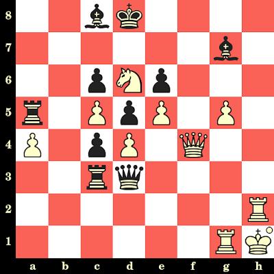 Les Blancs jouent et matent en 4 coups - Mikhail Botvinnik vs Victor Goglidze, Moscou, 1931