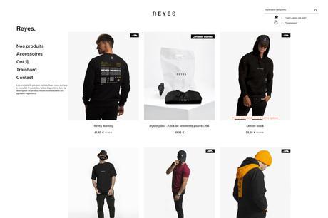 Reyes Clothing - Boutique en ligne officielle