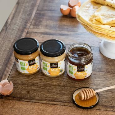 Ibo! dévoile une gamme de cinq miels bio crus...