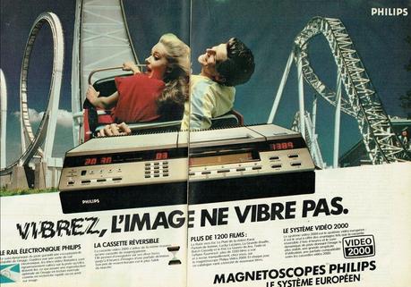 1982 magnetoscope Video 2000 Philips
