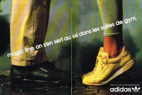 1987 ADIDAS collection baskets MAGIC LINE