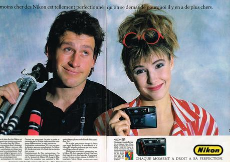 1987 NIKON appareil photo compact autofocus