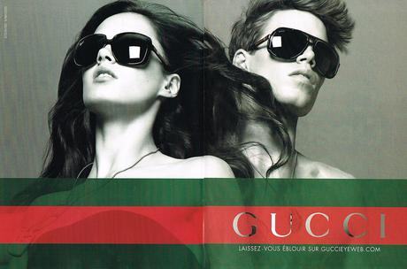 2009 GUCCI collection lunettes solaires