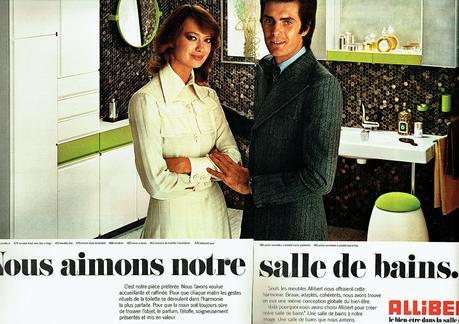1973 Allibert accessoires salle de bain