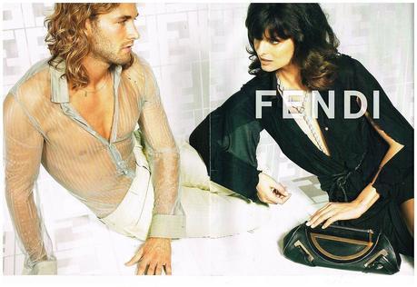 2007 Fendi avec Linda Evangelista