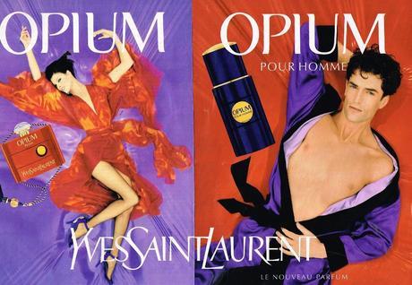 1995 Parfum Opium Yves Saint Laurent Jean baptiste MONDINO