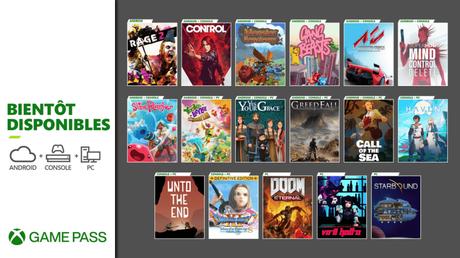Game Pass – De nouveaux jeux en Décembre 2020