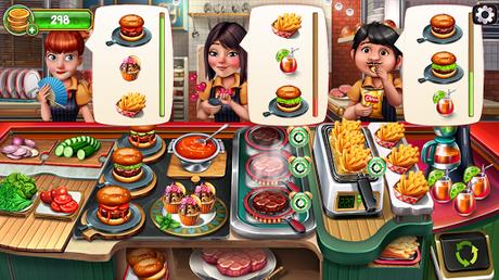 Code Triche Cuisine Équipe - Jeux du Restaurant du Chef Roger APK MOD (Astuce) screenshots 2