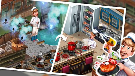Code Triche Cuisine Équipe - Jeux du Restaurant du Chef Roger APK MOD (Astuce) screenshots 1