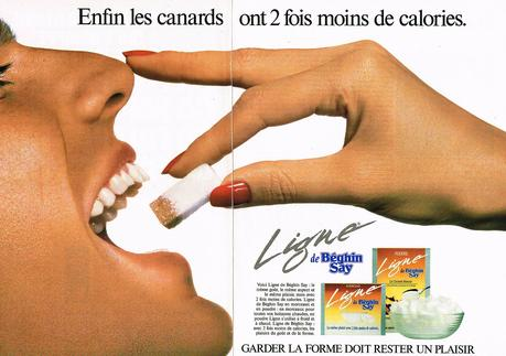 1991 BEGHIN SAY sucre ligne LIGHT