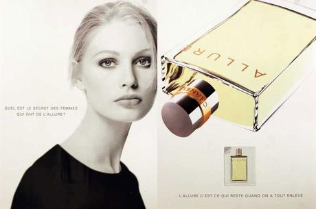 parfum Channel Allure 1997 model kirsty hume