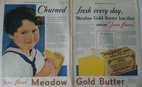 1931 Meadow Gold Butter