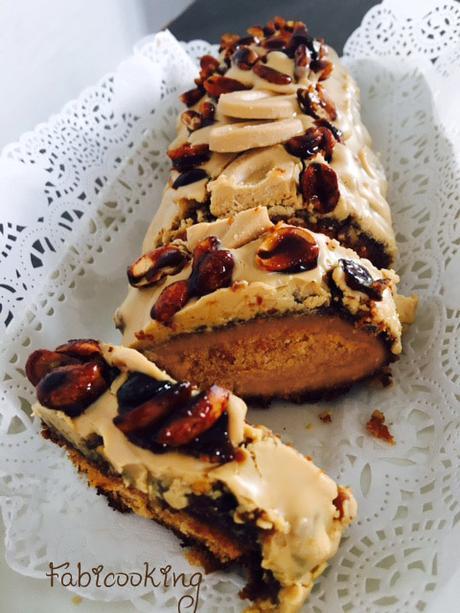 Cake praliné cacahuète Dulcey de Michalak
