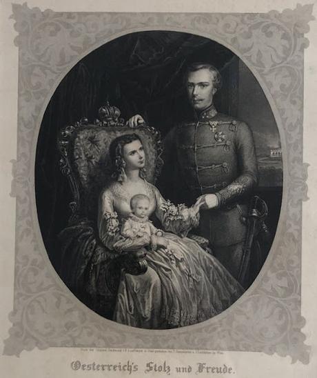 Un portrait de l'impératrice d'Autriche par Pierre Bertrand dans la presse française de 1894
