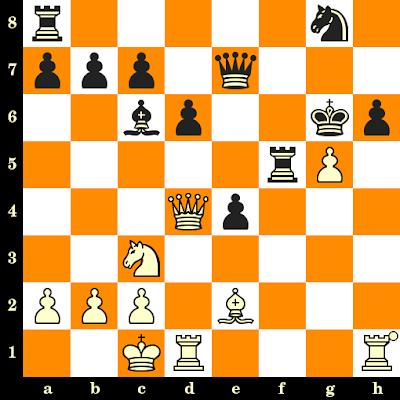Les Blancs jouent et matent en 3 coups - Heinrich Wagner vs Alfred Binckmann, Brême, 1927