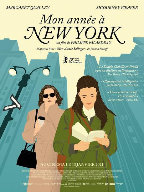 Affiche VF pour Mon année à New York de Philippe Falardeau