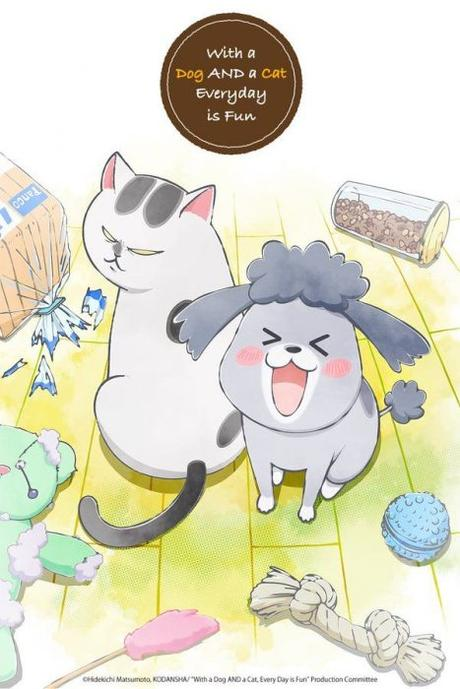 Anime automne 2020 : With a Dog AND a Cat, Every Day is Fun