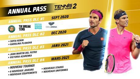 Tennis World Tour 2 sur PS5 et XSX en mars 2021