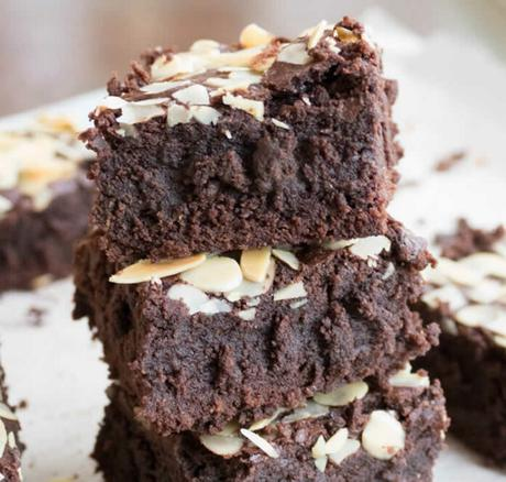 Brownies aux amandes effilées au thermomix