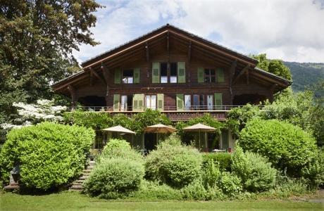 Un chalet douillet en Suisse comme une maison de famille