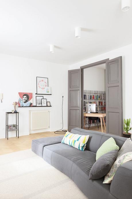 Frascati appartement 3 pièces espace bureau à la maison salon ouverte calme confort concentration