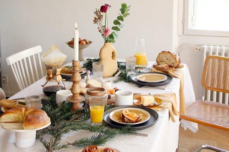 table noël petit déjeuner alinea