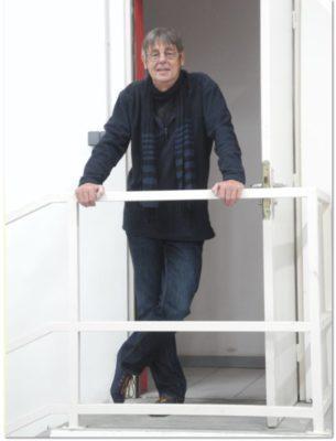 Jean Pierre Parlange à l'appartement