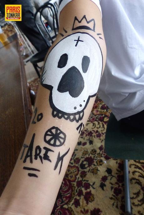 Body painting lors de l'Urban Jungle festival