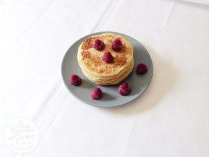 Recette de pancakes pour le petit déjeuner du dimanche.