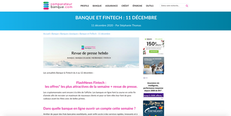 Comparateur Banque parle d'iPaidThat