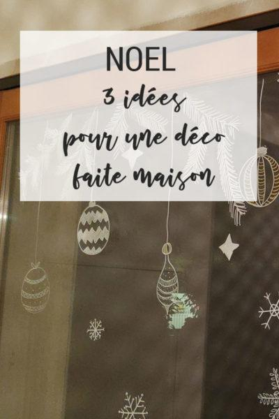 3 idées pour une déco de Noël DIY