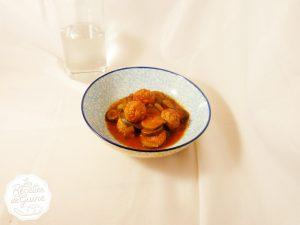 Recette de boulettes de bœuf et courgettes au cookeo