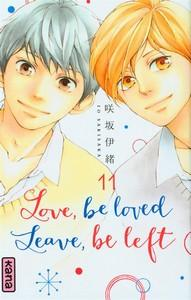 Io Sakisaka / Love be loved Leave be left, tome 11