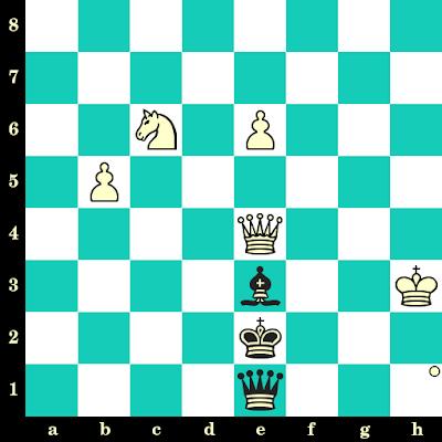 Les Blancs jouent et matent en 2 coups - Saidali Iuldachev vs I Dgumaev, Tashkent, 1993