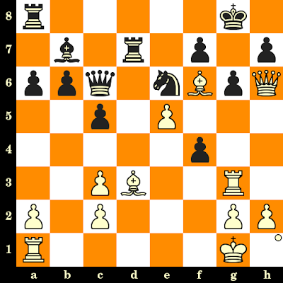 Les Blancs jouent et matent en 3 coups - Fridrik Olafsson vs Herman Pilnik, Reykjavik, 1957