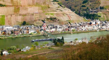 La Moselle à Zell par Ramessos [Domaine Public]