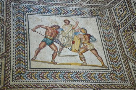 Mosaïque de la villa romaine de Nennig © Carole Raddato - licence [CC BY-SA 2.0] from Wikimedia Commons