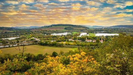 La vallée de la Moselle à Dieulouard © French Moments