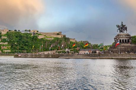 La Moselle à Coblence © kinek00 via Twenty20