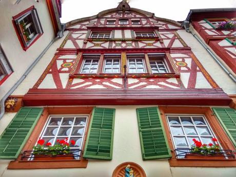 Maison à colombages à Bernkastel © LoKiLeCe - licence [CC BY-SA 4.0] from Wikimedia Commons