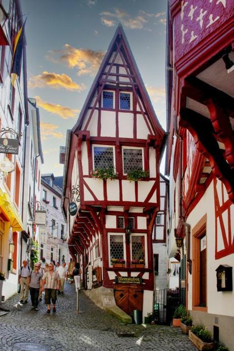 Maison pointue de Bernkastel. Photo : Berthold Werner [Domaine Public]