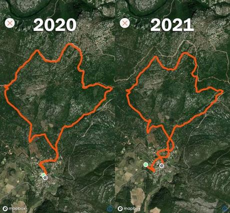 Bug 2021 montre GPS